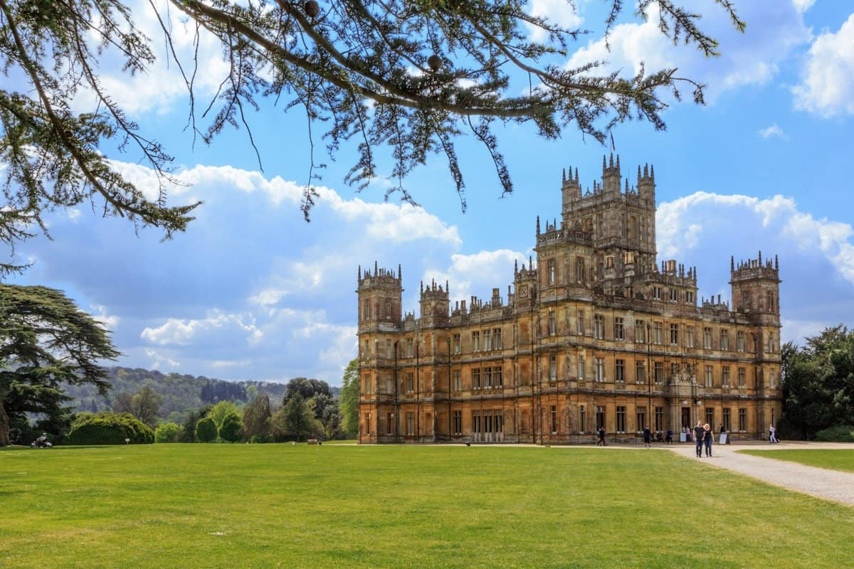 Highclere Castle is one of the best castles near London, famed for its appearance in Downtown Abbey.