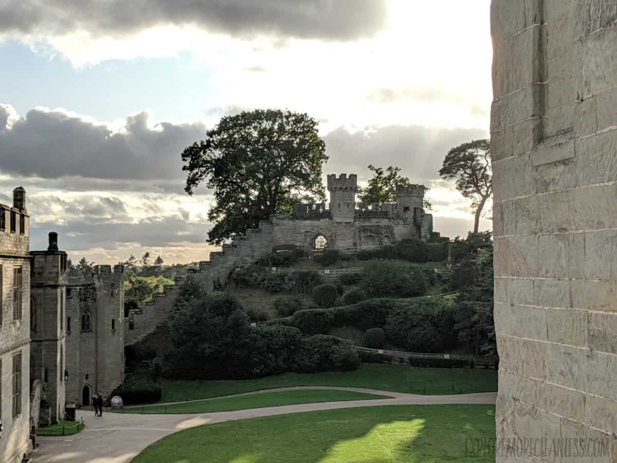 Warwick Castle near London makes for a great day trip.