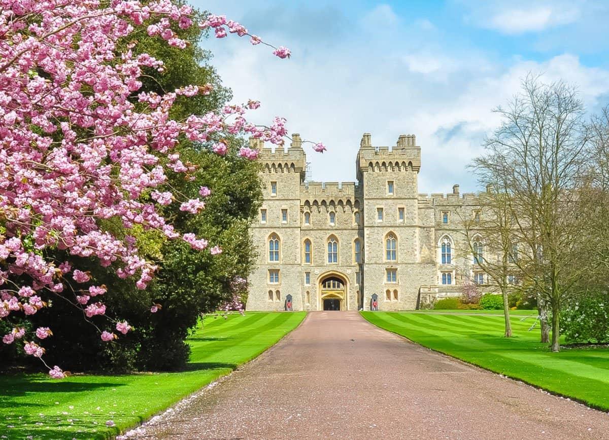 Windsor Castle is one of the best castles near London.