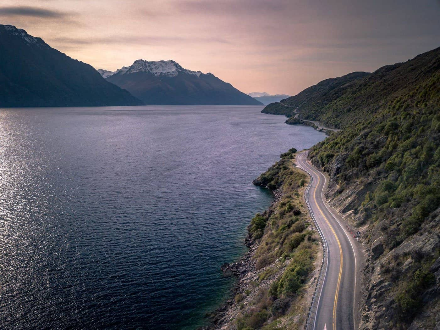 The Devil's Staircase is a beautiful stretch of road that begins your journey from Queenstown to Milford Sound.