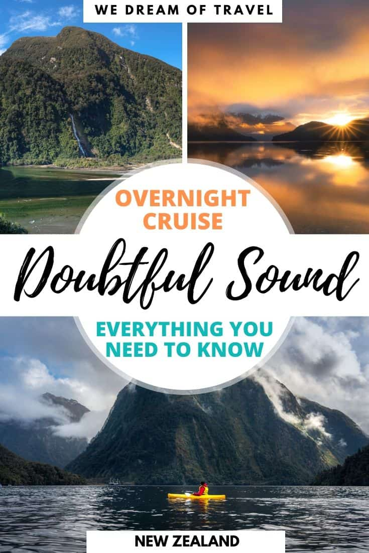 A Doubtful Sound overnight cruise provides an unforgettable experience. You will be immersed in untouched wilderness of Fiordland National Park, discovering one of the most beautiful parts of New Zealand.  Our complete guide contains everything you need to know before you book an overnight cruise to Doubtful Sound.