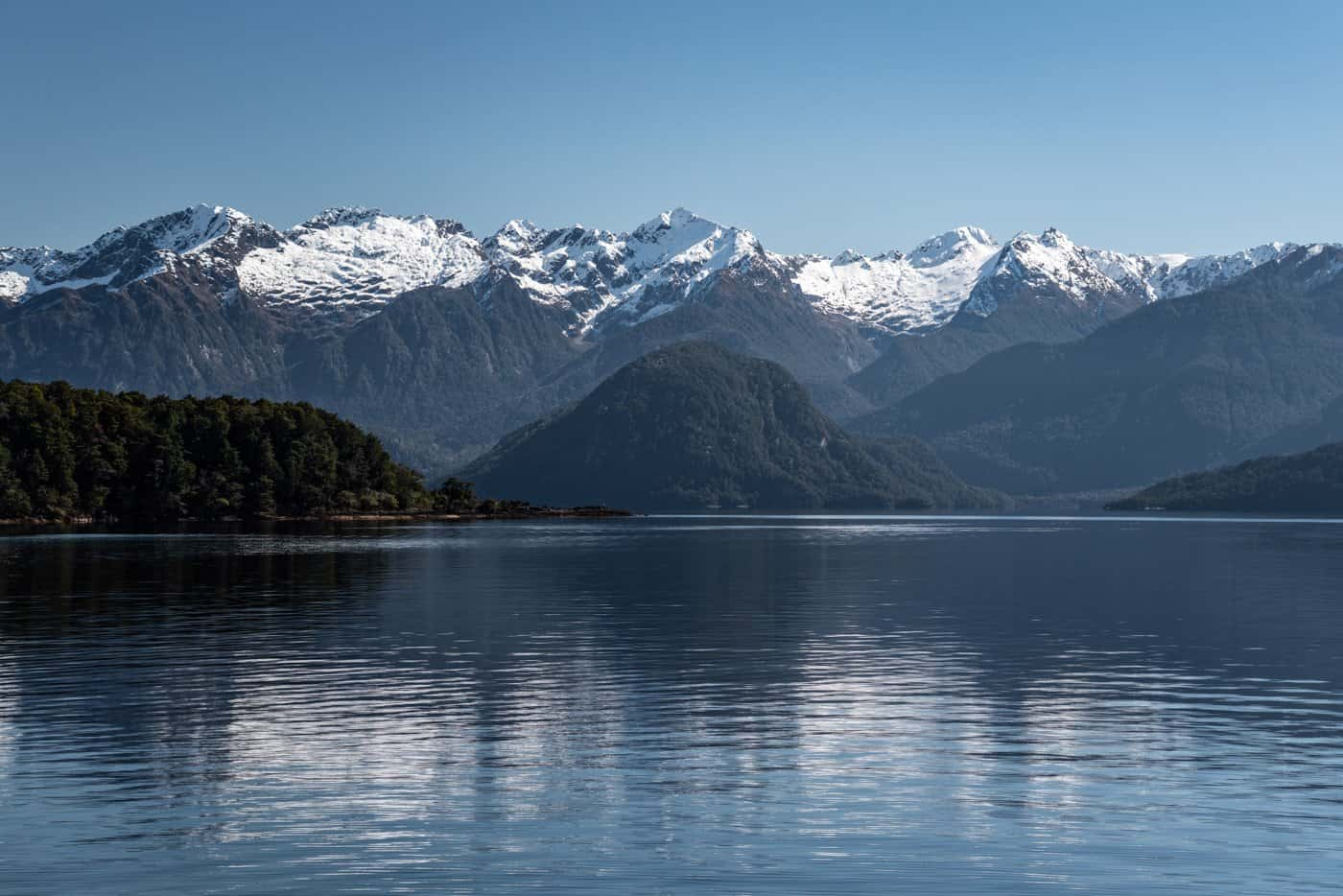 You will arrive to Doubtful Sound via 2 boats and a bus, but every stretch is scenic!
