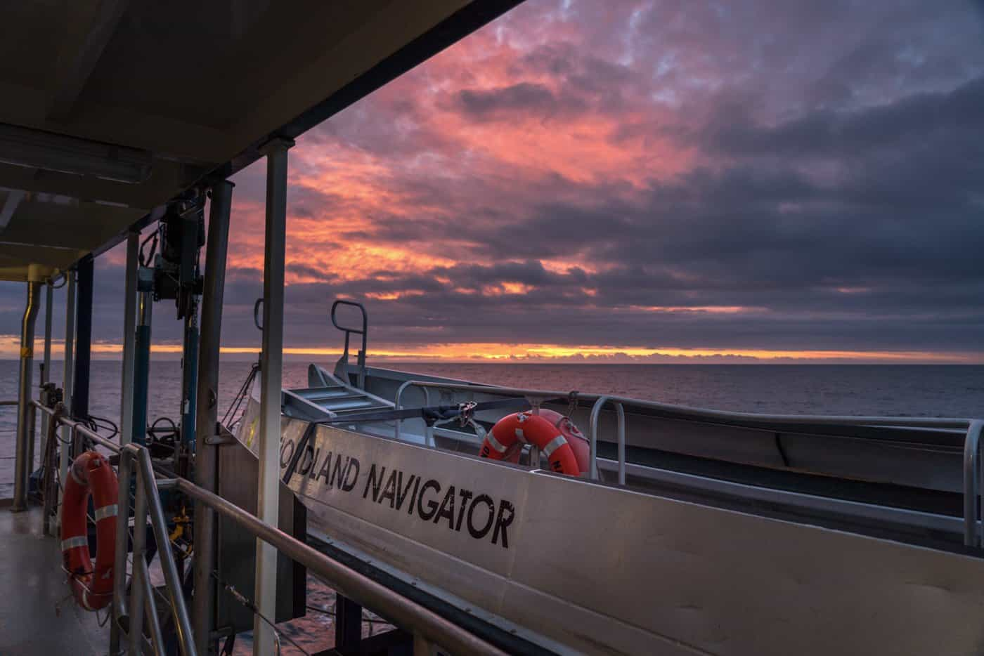 You'll enjoy the freedom the boat provides for watching the sunset, photographing wildlife,  taking in all the spectacular Doubtful Sound views,