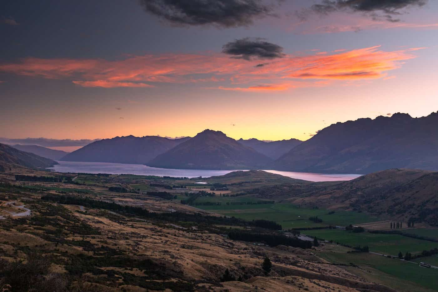 Time permitting, head up the road to The Remarkables and watch sunset over Queenstown.