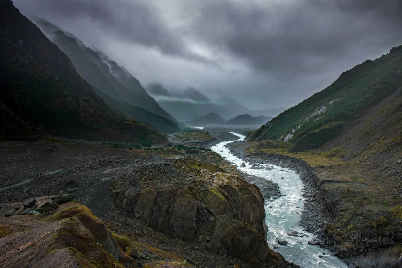 The Franz Josef Glacier walk is arguably the prettier of the two Glacier Walks in the region.