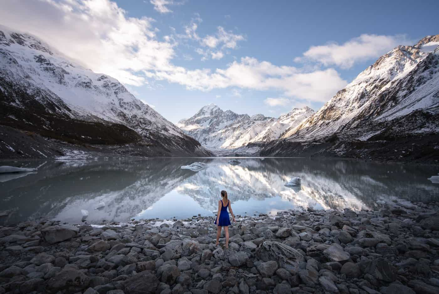 You should definitely include Mt Cook / Aoraki NP in your 7 day New Zealand South Island itinerary if the weather cooperates!
