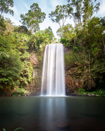 Millaa Milla Falls, one of the most popular waterfalls near Cairns.