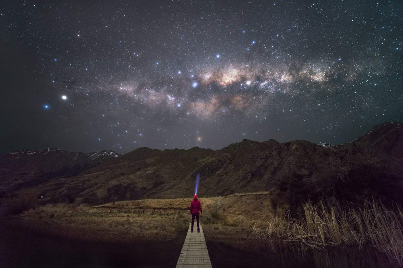 June in New Zealand is the best month for Milky Way photography.