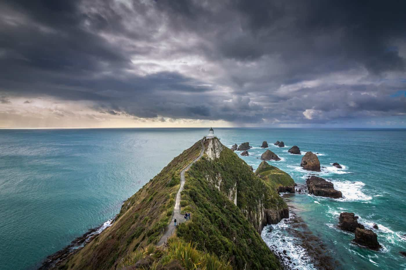 Expect dramatic and unpredictable weather if visiting New Zealand in March.