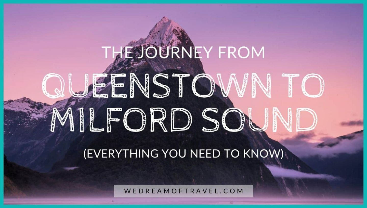 A guide to the journey from Queenstown to Milford Sound covering everything you need to know!
