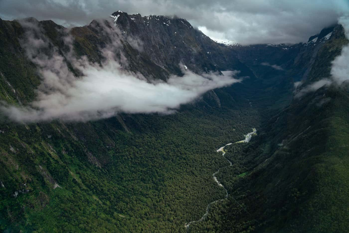 Incredible views were captured on our scenic flight from Queenstown to Milford Sound.