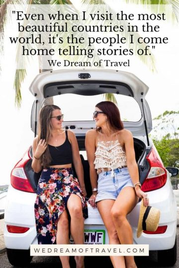 Looking for a quick reminder of a fun past road trip?  Or inspiration to take a new epic trip on the road?  These quotes about road trips will help take you on a trip without leaving home!  Whether a road trip with friends, family or a partner, these quotes are guaranteed to inspire wanderlust.