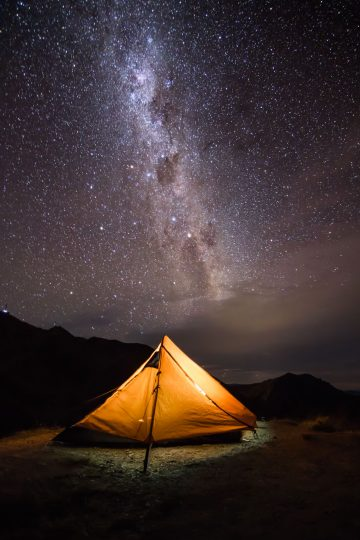 There are many beautiful campsites in New Zealand available for as little as $5.