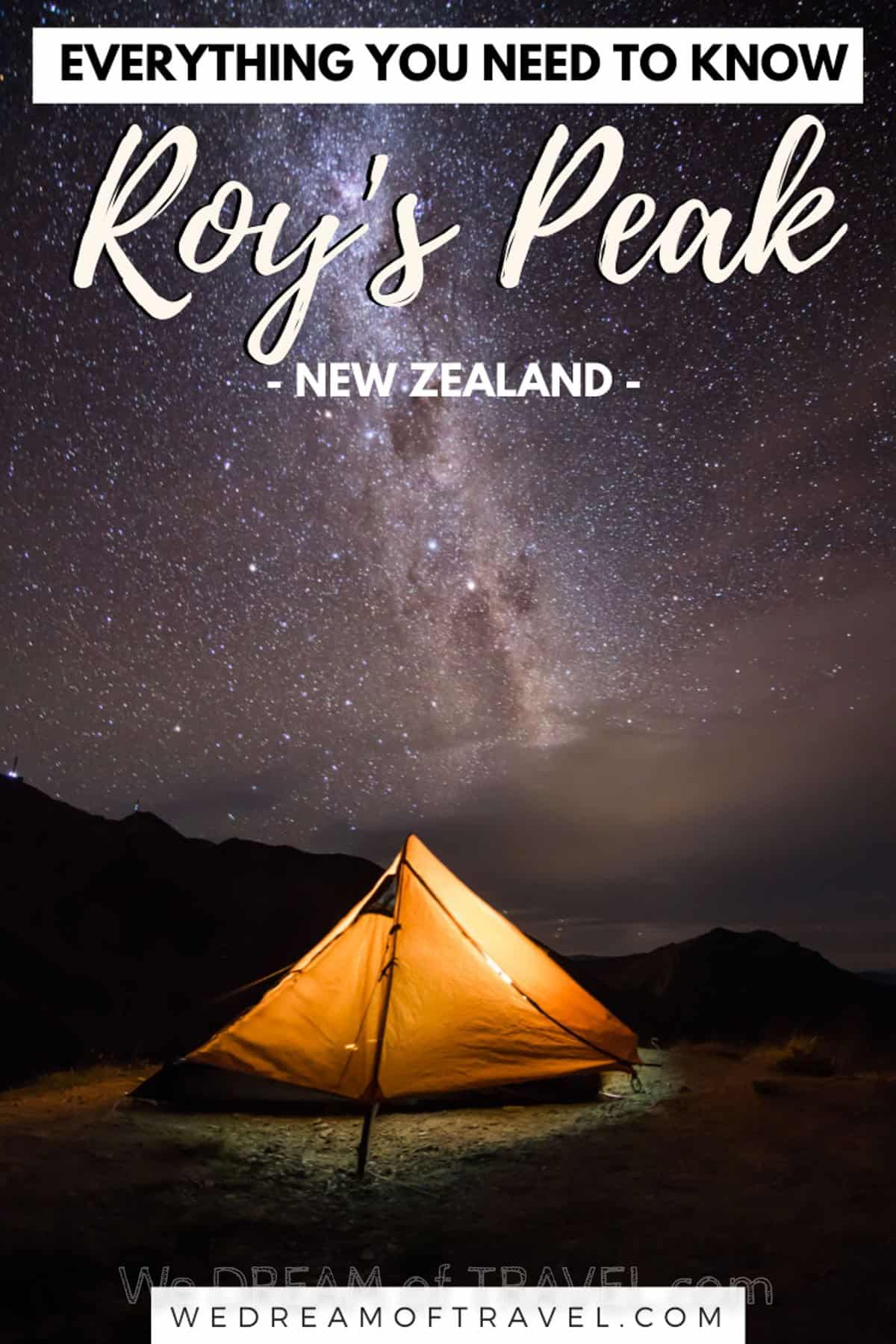 Planning to hike to Roys Peak?  Here you'll find everything you need to know about Roys Peak, Wanaka, before you tackle this gruelling hike!  Including how to avoid the crowds and get the best photos of this iconic location on the South Island of New Zealand. #newzealand #wanaka #royspeak