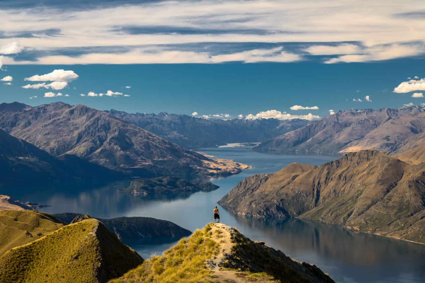 Roys Peak is among the most popular destination for New Zealand landscape photography.