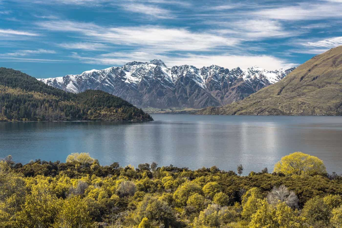 Greens turn to gold in New Zealand in April.