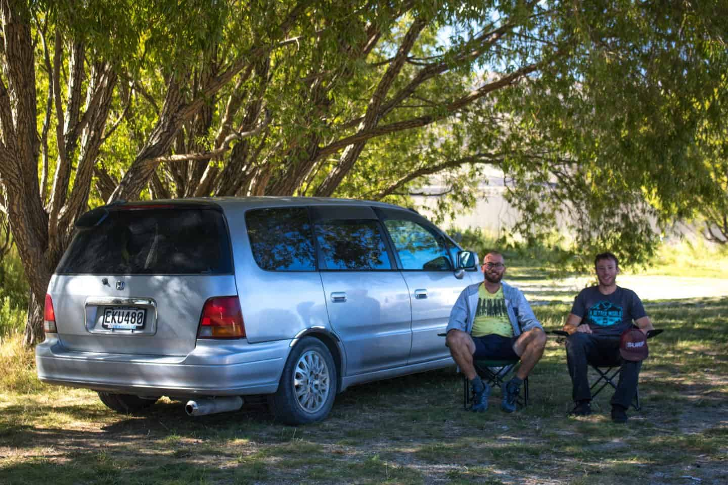 Ridesharing is a great way to travel New Zealand by campervan for solo travelers.