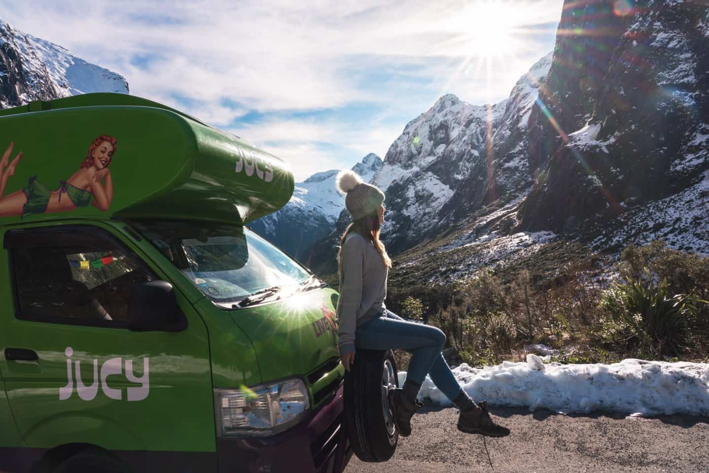 Renting a campervan to travel NZ is the fastest and easiest option.