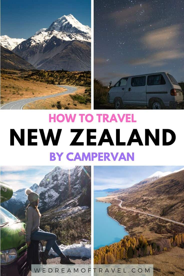 Discover everything you need to know about campervanning New Zealand. Plan your perfect road trip to New Zealand with these helpful campervan tips.   How to choose the best campervan, where to camp, what is freedom camping, how much camping costs and more! #newzealand #campervan #roadtrip #travelguide