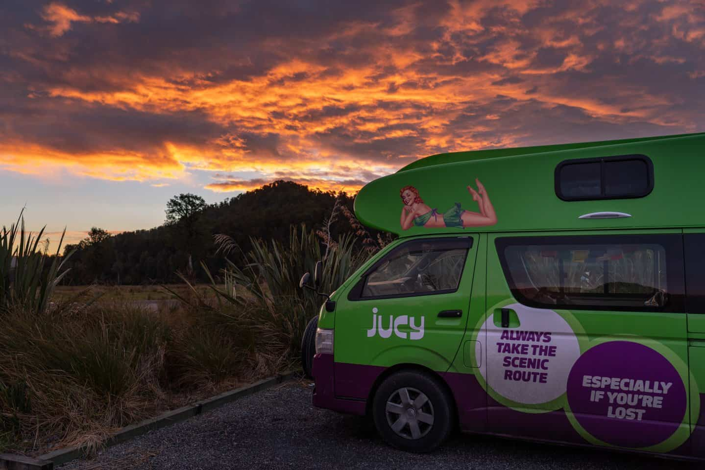 We found these maps and resources extremely helpful for guidance throughout our time campervanning in New Zealand.