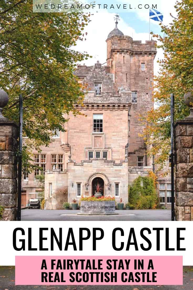 Have you ever wanted to spend the night in a castle?  Live out your fairytale dream at Glenapp Castle, one of the best castle hotels in Scotland.  Discover all about our unforgettable stay at this real Scottish castle and why you should stay here too!