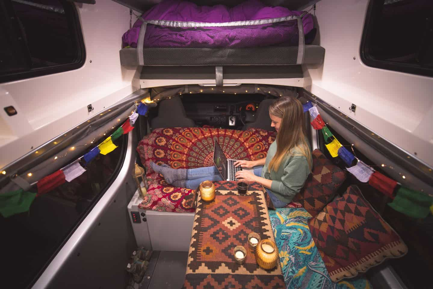 Choosing a self-contained campervan to travel New Zealand will provide a far more comfortable and liberating experience.