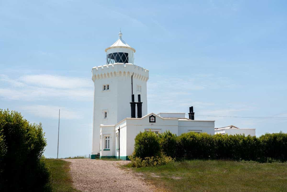 View of South Foreland Lighthouse
