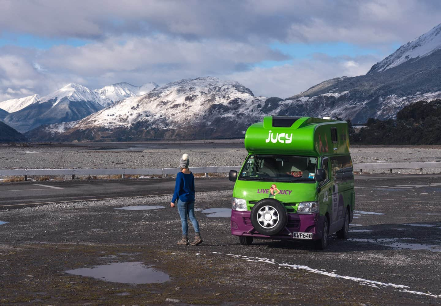Be sure to get your visa or waiver approved BEFORE planning your campervan adventure.