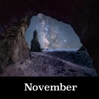 Oregon Night Skies Calendar for November