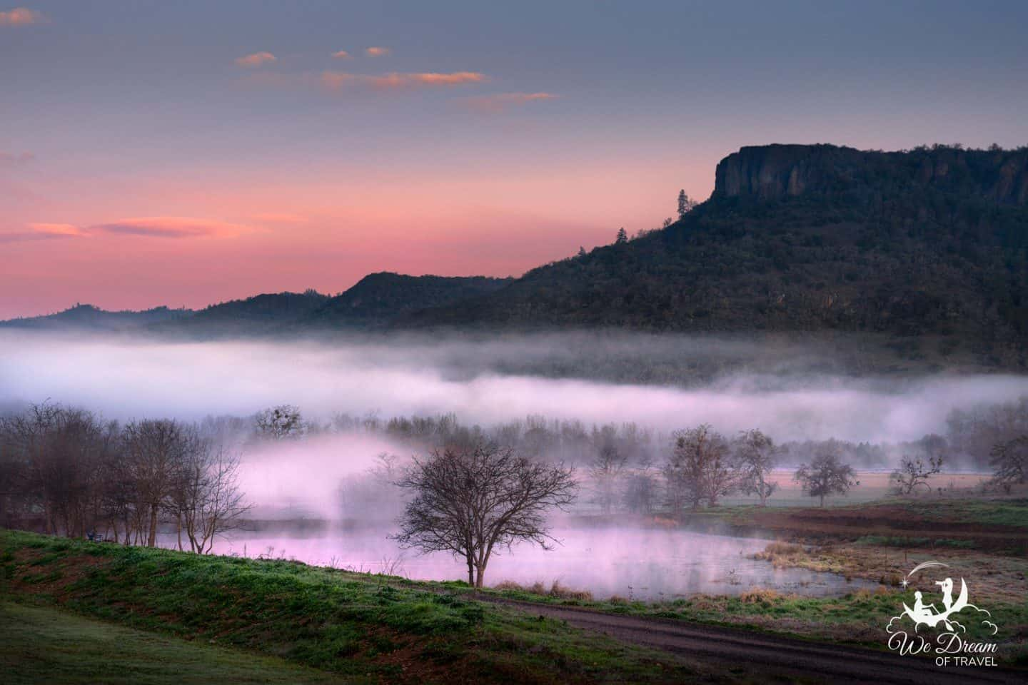 Sunrise at Table Rock in Southern Oregon