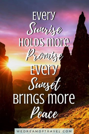 This complete list of 130+ sunset captions for Instagram has all the best sunset quotes, from funny, short quote to long inspirational quotes and even original, unique quotes.  So you're sure to find the perfect Instagram caption for your sunset photos. #sunsetcaptions #sunsetquotes #sunsets #instagram #instagramcaptions #photography