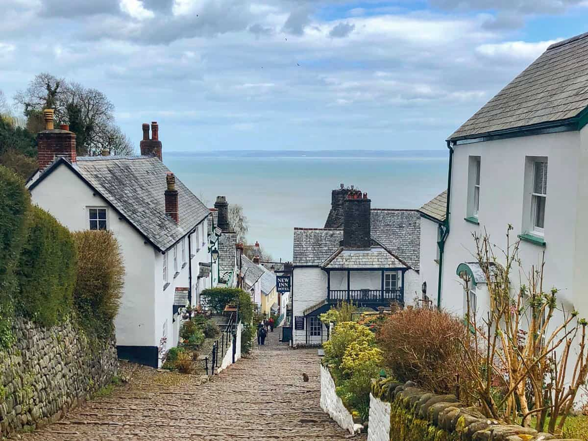 The small fishing village of Clovelly in Devon, England, UK.