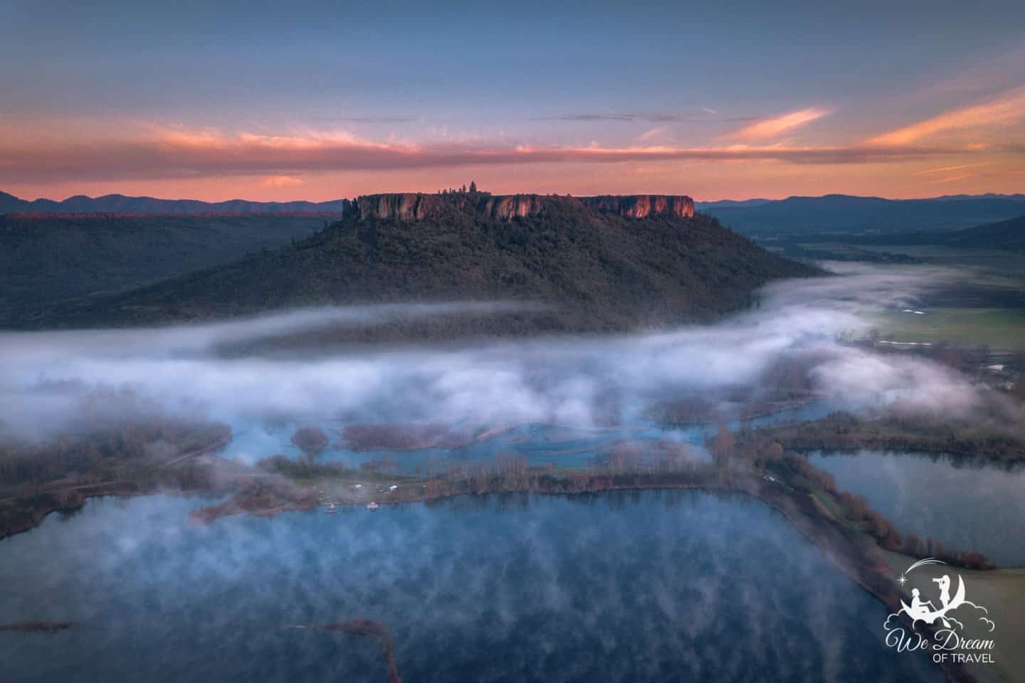 Visit Southern Oregon to experience a sunrise at Table Rock