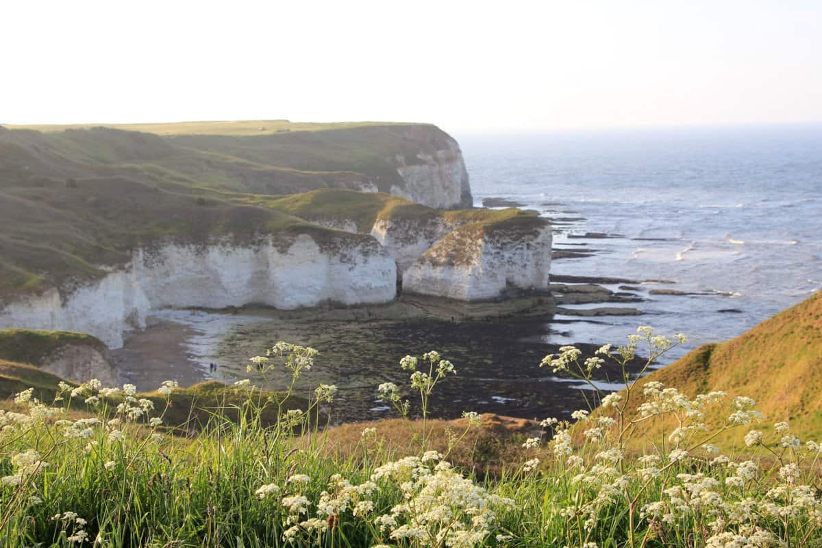 Stunning coastline of Flamborough Head, Yorkshire