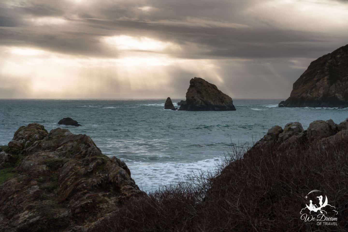 Moody day photography on the Oregon Coast