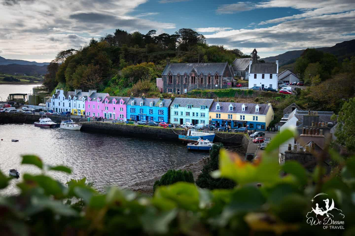 Portree is not only the most conveniently located place to stay on Scotland's Isle of Skye, but the most photogenic as well.