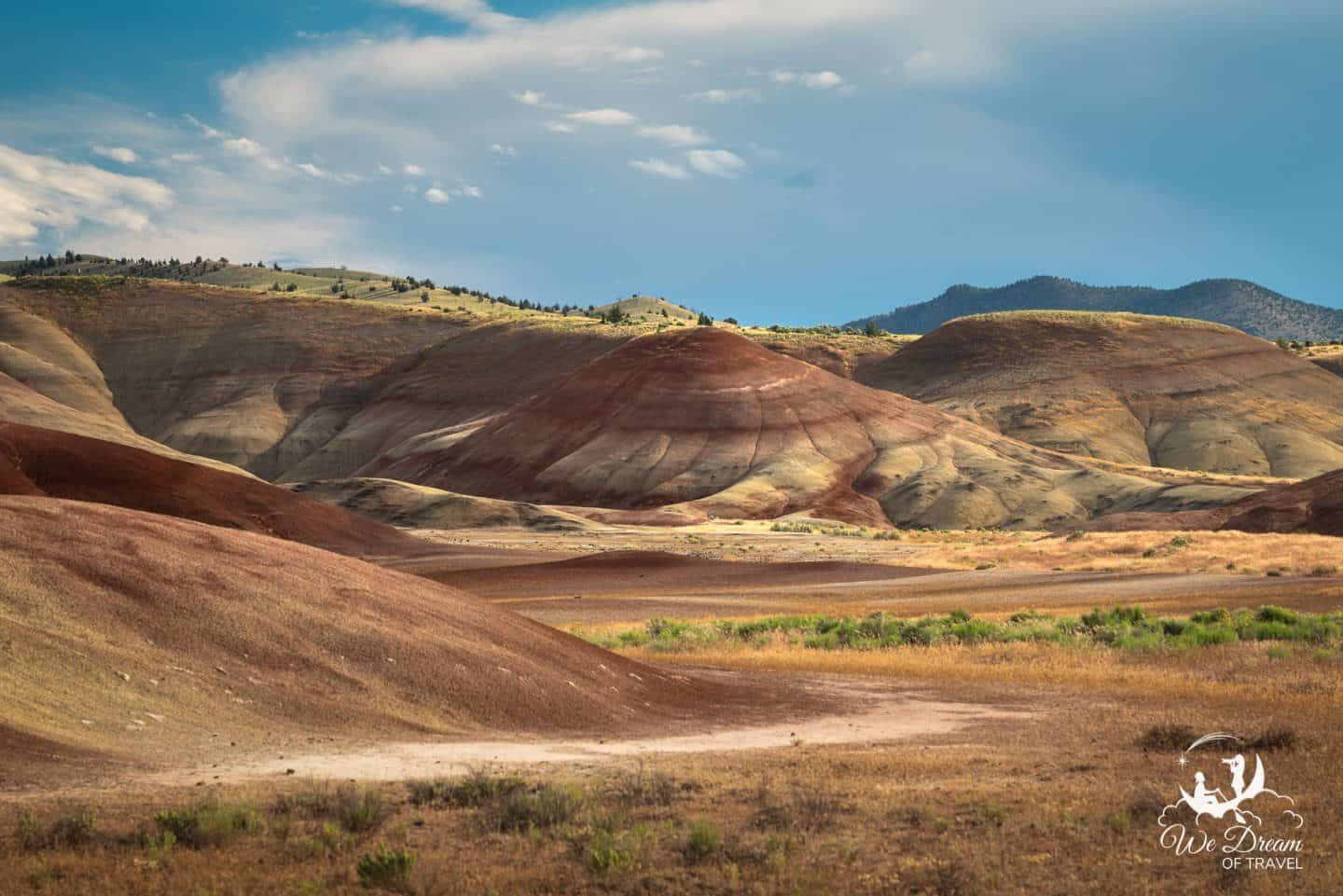 John Day Painted Hills of Oregon