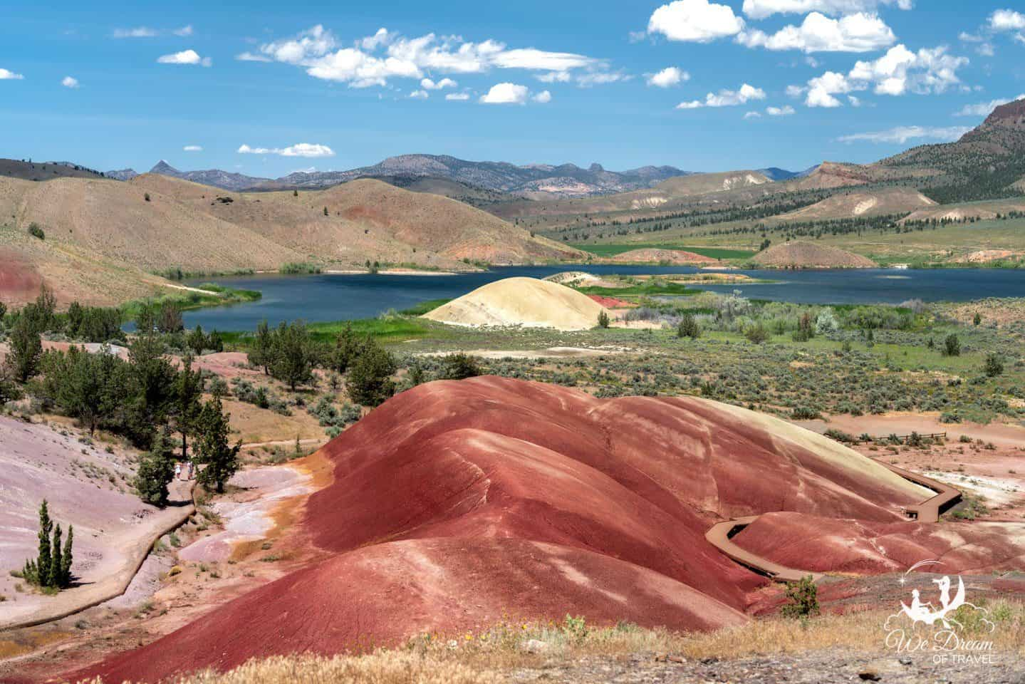 Explore incredible landscapes on an Oregon visit to John Day Painted HIlls Unit