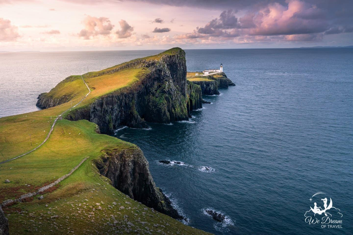 The impressive Neist Point Lighthouse provides the perfect subject for photographers needing to an already postcard-perfect scene.
