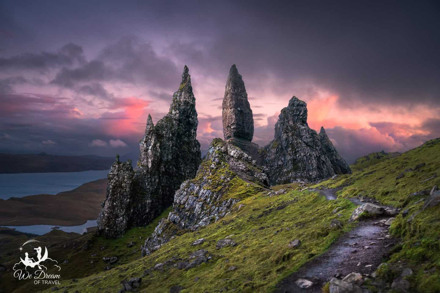 No surprise here, the Old Man of Storr is absolutely the best destination for landscape photography on the Isle of Skye.