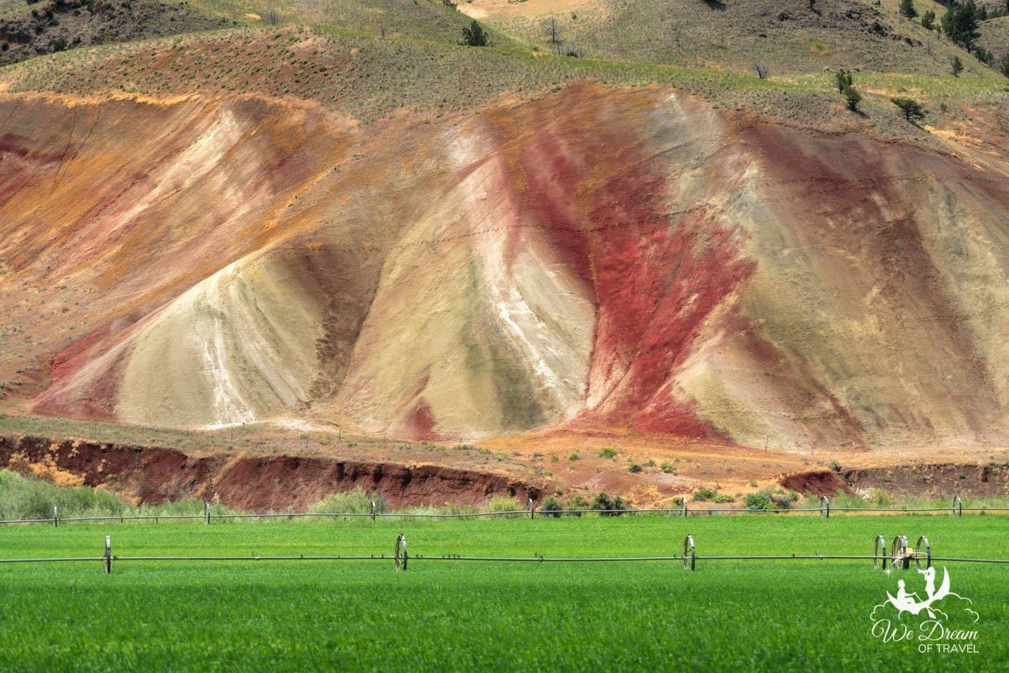 Exploring the Painted Hills on a visit to Oregon