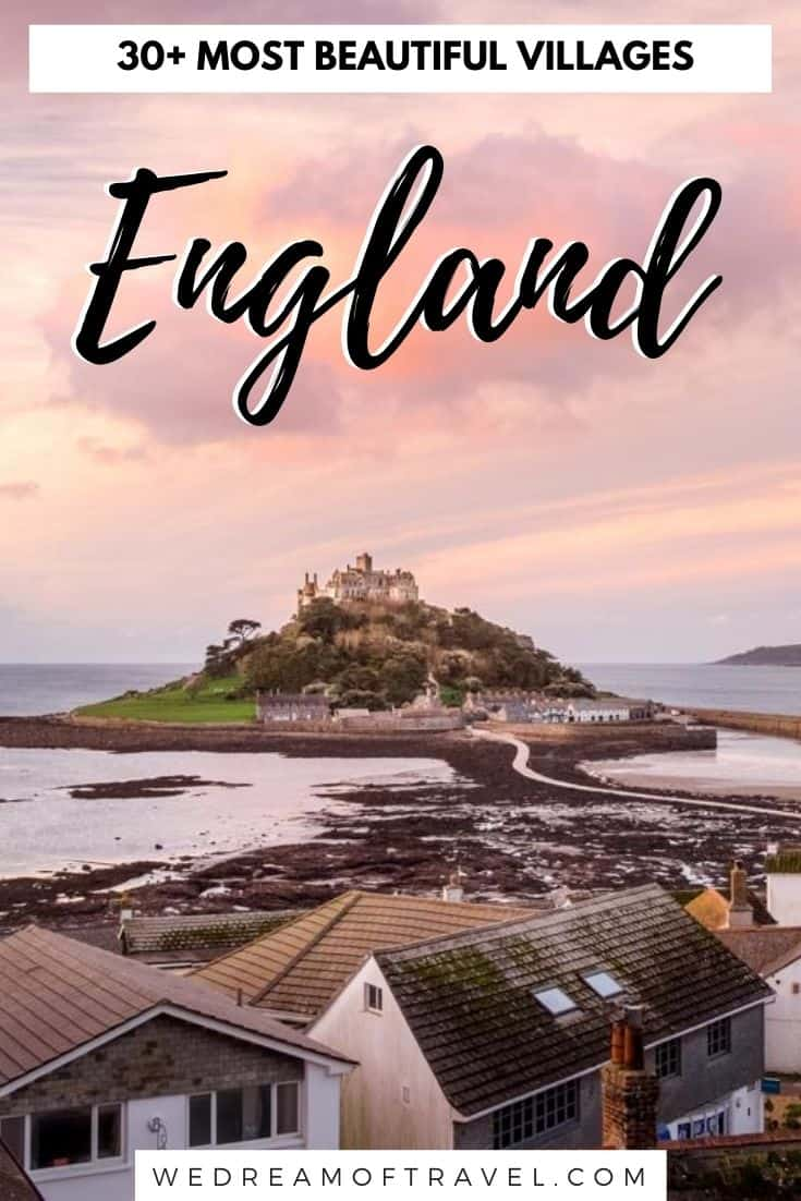 Looking for the prettiest English villages? Find over 30 of the most picturesque, fairytale villages in England. From quaint, rural villages to rustic coastal towns - this guide has you covered for the best villages all over England.