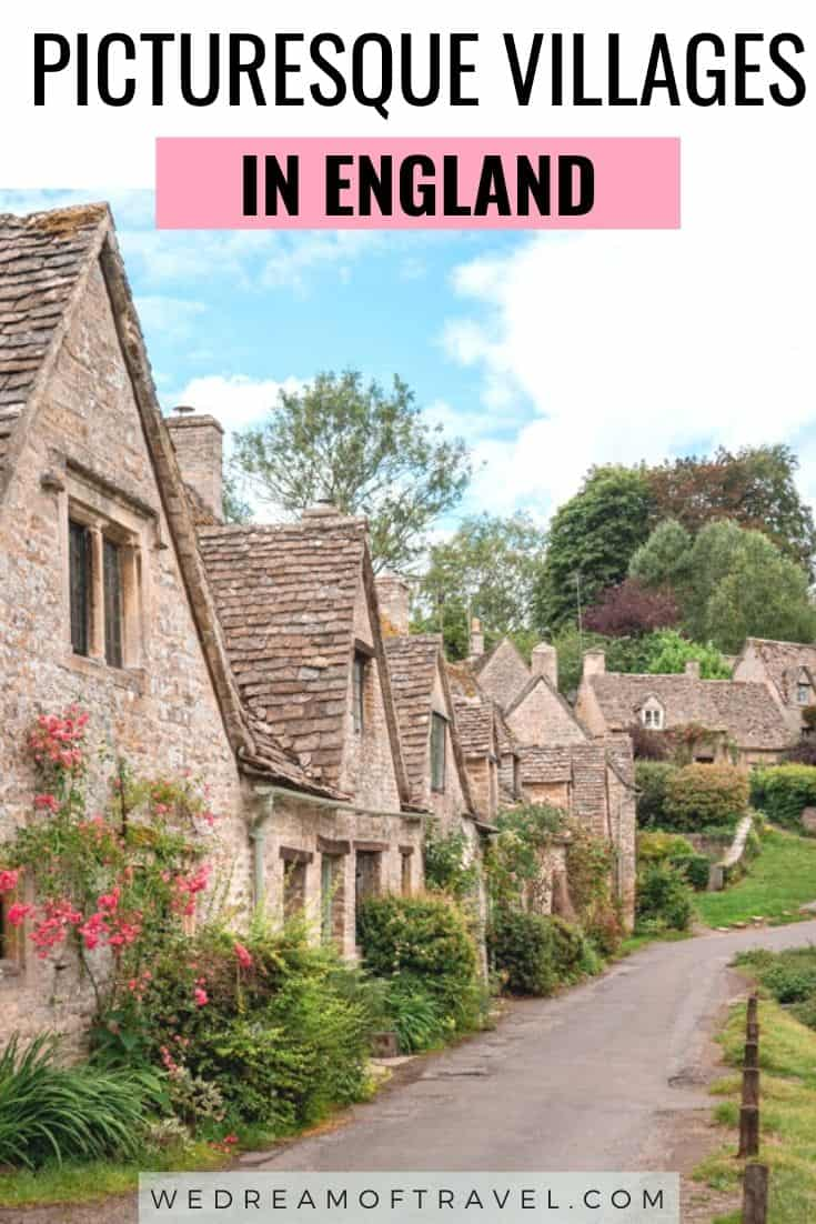 A guide to the most picturesque villages in England. Feel like you've stepped back in time or into a fairytale with these beautiful English villages. #England #Travel #UK