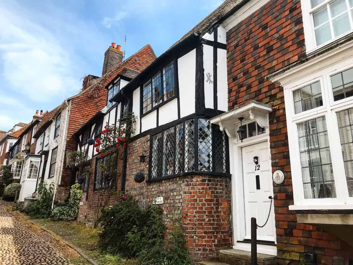 Pretty half-timbered home in Rye Village, East Sussex