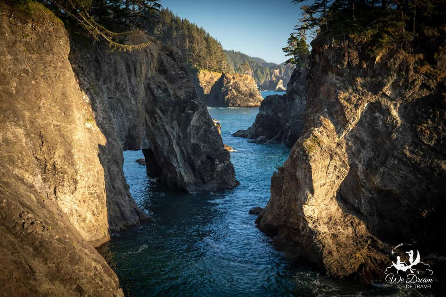 Photographing the coastal secrets of Samuel H Boardman Scenic Corridor in Oregon.