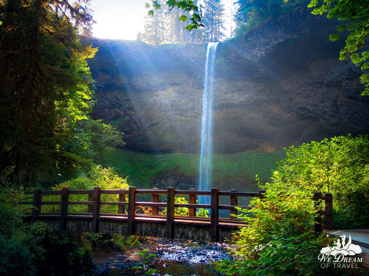 Of the 10 you will discover, South Falls is the most popular and beautiful waterfall in Silver Falls State Park.