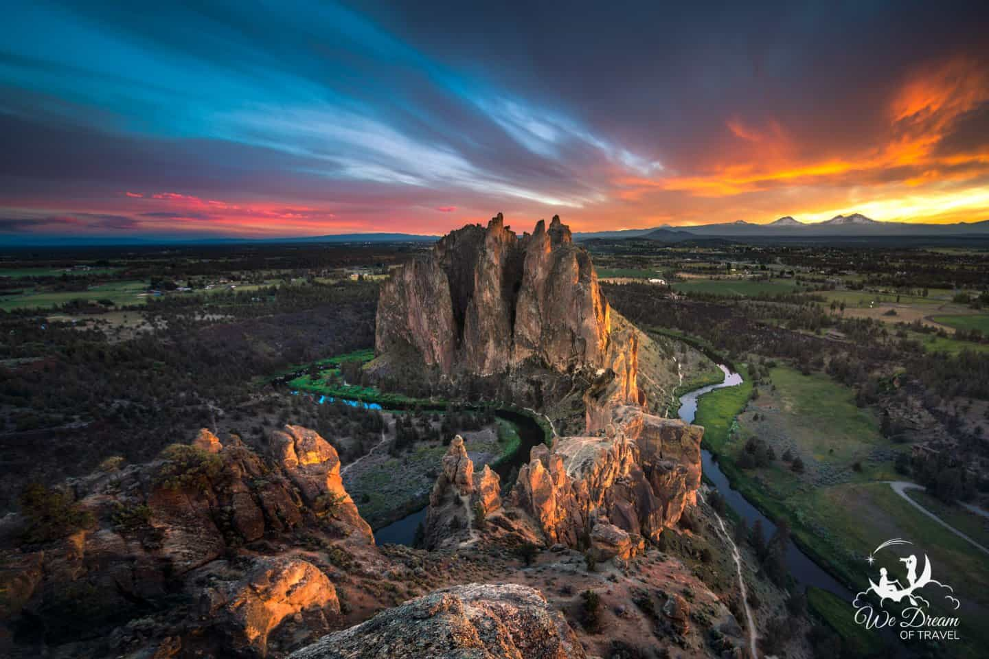Smith Rock State Park is a bucket list place to visit for every ORegon visitor