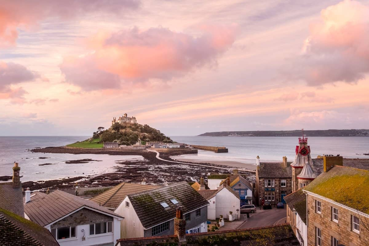 St Michael's Mount is one of the England's least known but most impressive travel bucket list destinations.