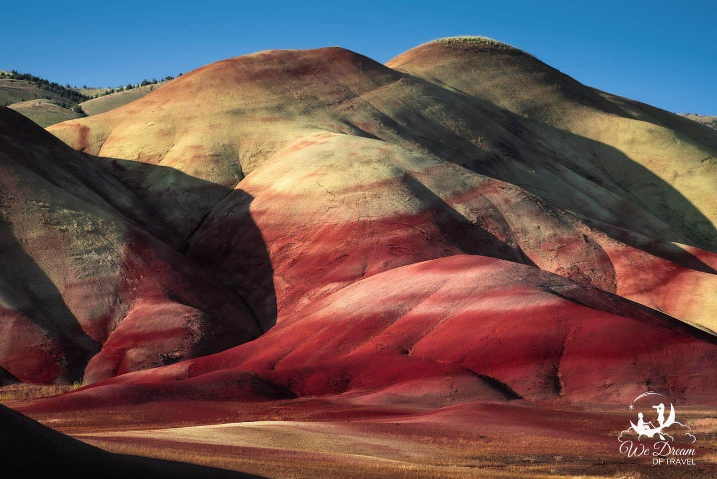 Sunrise photography from the Painted HIlls