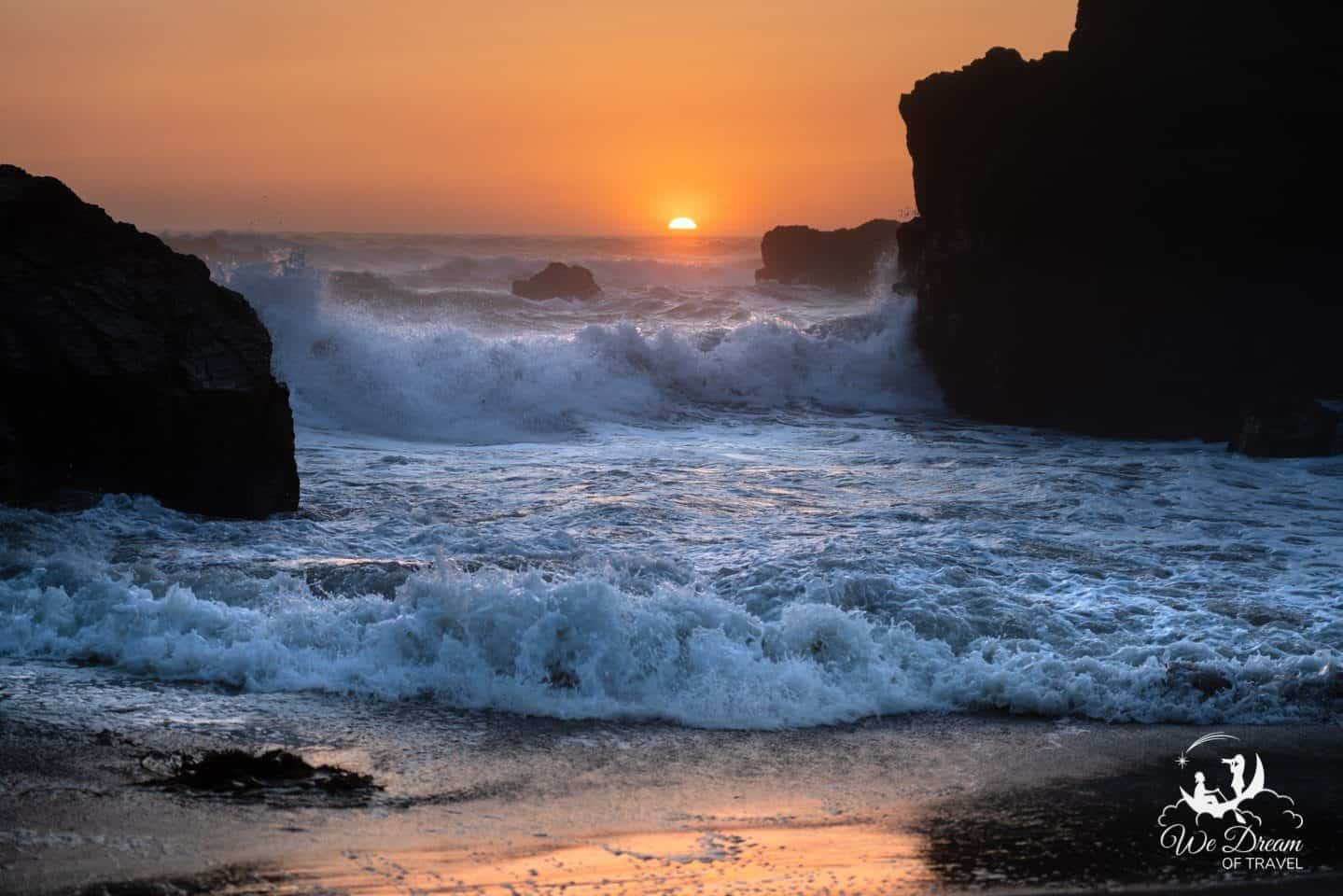 Samuel Boardman is a must-see place to visit in Oregon for sunset.